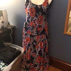 Jones Studio size 14 colorful dress